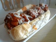 Family Dinner Idea: Slow Cooker Meatball Subs
