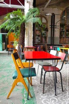KAGADATO selection. The best in the world. Loft interiors design. **************************************La recyclerie / 83 Boulevard Ornano, 75018