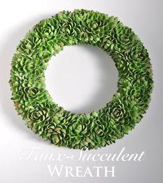 Faux-Succulent