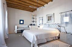 Vacation villa Amos - Paros, Greece. $157 Book your vacation with us and get our Pinterest followers 10% discount!