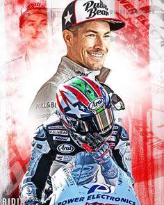 Motogp, Nicky Hayden, Speed Art, Michael Schumacher, Valentino Rossi, Champs, Kentucky, Motorcycles, Peace