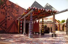 Location: Kaolack, Senegal Client: Mission Française de Coopération et d'Action Culturelle Architect: Patrick Dujarric