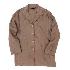 リネンシャツジャケット VINTAGE LINEN JACKET - RUMHOLE beruf online store