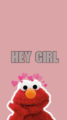 Elmo Wallpaper, Kaws Wallpaper, Girl Wallpaper, Cartoon Wallpaper, Wallpaper Quotes, Phone Backgrounds, Wallpaper Backgrounds, Iphone Wallpaper, Aesthetic Pastel Wallpaper