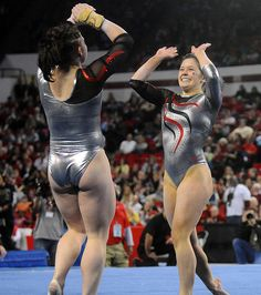 Sexy female gymnast ass opinion you
