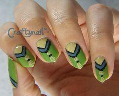 Tassel Nails for Eva's Nail Art Contest
