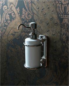 Haceka Vintage 1170897 Soap Dispenser Wall Mount Steel By