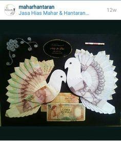 Uang Mahar Pernikahan bentuk Burung
