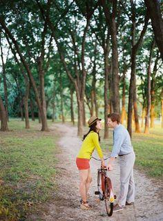 couple & bike // ryan ray photography
