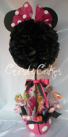 Cristy's Cakes: Minnie Mouse en Fucsia