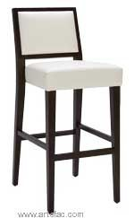 """"""" Leather Barstool and Counter stool in Ivory, Oxblood, Brown and Grey"""""""