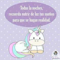 Recuerda siempre que la MAGIA comienza CONTIGO...  Feliz miércoles! #Garabattas #Magia #Unicornios #Feliz