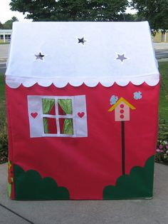 Playhouse Pattern, Sew a Large Playhouse to Fit a PVC Frame, ebook only. $20.00, via Etsy.
