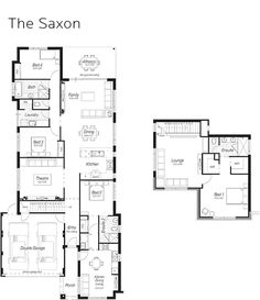 Town house building plan new town home floor plans for Ross north home designs