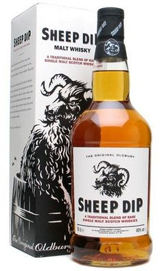 The Spencerfield Spirit Company Sheep Dip Blended Malt Scotch Whisky is a mouthful of a name, but the whisky itself lives up to expectations. In fact, the blend is so tasteful, it takes 16 different whiskies to create it. Cigars And Whiskey, Bourbon Whiskey, Whiskey Bottle, Whiskey Girl, Irish Whiskey, Scotch Whisky, Tequila, Fireball Drinks, Bourbon Drinks