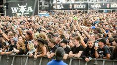 Für das nächste Wacken Open Air läuft der Vorverkauf schleppender als 2016… Festivals, Open Air, Heavy Metal, Dolores Park, Travel, Heavy Metal Music, Viajes, Destinations, Traveling