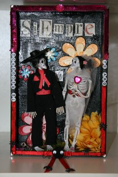 HOW TO MAKE A MEXICAN DAY OF THE DEAD SHADOW BOX
