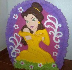 Piñata de  princesa Bella