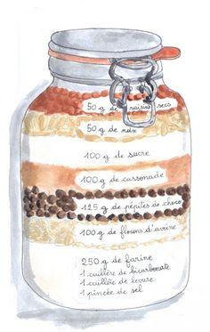 Idee cadeau pour Noël avec un mini budget maxi effet avec ce tout mignon bocal S.S Cookies ✨👌🎁 Sos Cookies, Biscuit Cookies, Little Presents, Diy Crafts To Do, Jar Gifts, Cookie Jars, Diy Food, Homemade Gifts, Mason Jars