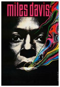 Miles Davis Poster Pop Art - POLISH Artwork Jazz Pic $10.94