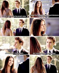 """#TVD 6x21 """"I'll Wed You in the Golden Summertime"""" - Elena and Stefan"""