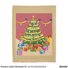Presents under Christmas Tree Fleece Blanket - Xmas ChristmasEve Christmas Eve Christmas merry xmas family kids gifts holidays Santa Kids Gifts, Home Gifts, Family Holiday, Holiday Decor, Christmas Eve, Christmas Stuff, Art Diy, Merry Xmas, Decoration