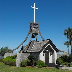 ☑ Sweetest little prayer chapel at Epworth By The Sea, St. Simon's Island, GA ♥