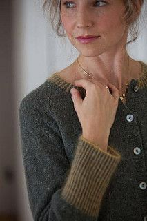 """Finished Size 33 (35, 37, 40½, 45½, 49)"""" bust circumference, buttoned. Cardigan shown measures 33"""", modeled with zero ease."""