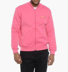 Adidas Veste à capuche Essentials 3 Stripes Mid saumon