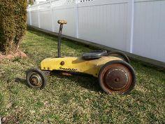 Antique Pedal Car - Garton Speedster