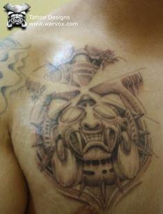 Jaguar Warrior Tattoo » ₪ AZTEC TATTOOS ₪ Aztec Mayan Inca Tattoo Designs Instant Download