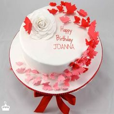 Happy Birthday Many Returns Of The Day JOANNA NameBirthdayCakes