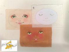 PAP pintura rosto boneca parte 1