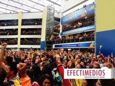 GRAN EXPOSICION DE MARCA EN CENTROS COMERCIALES - BRASIL 2014 ¿Cuantas personas calculan hay en este Centro Comercial? Aquí más info y fotos: http://www.efectimedios.com/htm/contenido.php?pid=0id=6bid=267