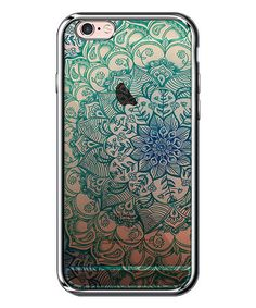 Another great find on #zulily! Chrome & Turquoise Large-Mandala Case for iPhone #zulilyfinds