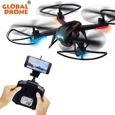 GLOBAL DRONE GW007-2 dron mini dron drone with hd camera dron professionalrc Helicopter selfie drones <3 Find out more on AliExpress website by clicking the VISIT button