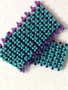 """Video Tutorial: Bracelet- """"Pondo"""" Stitch by Bronzepony Beaded Jewelry on youtube.com"""