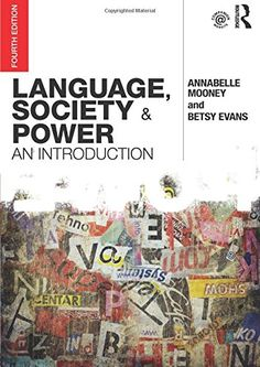 Language, Society and Power: An Introduction (Volume 2) b...