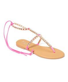 Hot Pink Sandal