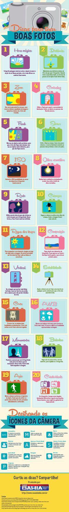 20 dicas para tirar fotos legais - Assuntos Criativos