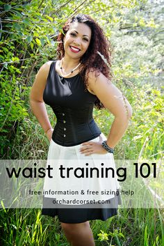 Everything you need to know about corset waist training, all in one place!