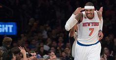 #NBA: Carmelo Anthony anota 35 y los Knicks vencen al Heat