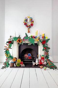 Guirlande Noël géante                                                                                                                                                      Plus