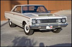 10 Rarest American Muscle Cars: 1967 Plymouth GTX RO23--Only 55 Produced.