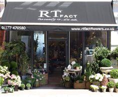 inspirational florist shop front