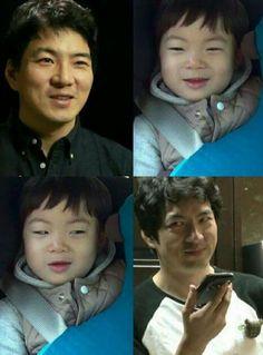Appa x Manse, like twins! Song Il Gook, Wallpaper Tumblr Lockscreen, Man Se, Song Triplets, Human Bean, Cute Songs, Superman, Sons, Tv Shows