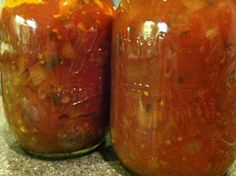 Canning Homemade!: Spaghetti with meat sauce! - and now a recipe without meat!