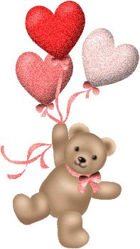 Glitter Graphics: the community for graphics enthusiasts! Teddy Bear Images, Teddy Bear Pictures, Teddy Beer, Hug Gif, Animated Heart, Cute Love Wallpapers, Cute Kids Pics, Birthday Girl Quotes, Valentines Day