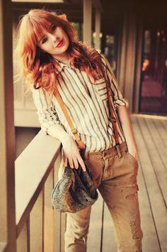 suspenders & stripes