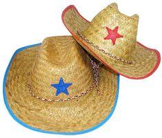 Childs Straw Cowboy Hats With Plastic Star (1 dz) Fun Express http://www.amazon.com/dp/B001H3OLUY/ref=cm_sw_r_pi_dp_TzYfub0A17MRS